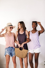 Charcoal - Dress Up models wearing the Everyday Tank