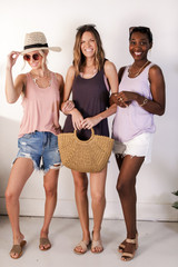 Charcoal - Models wearing the Everyday Tank