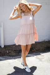 Blush - Tiered Dress from Dress Up