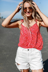 Red - Polka Dot Tank from Dress Up