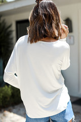 Everyday Long Sleeve Top Back View