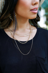 Gold - Chain Layered Necklace from Dress Up