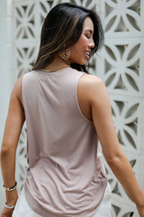 Everyday Tank in Blush Back View