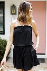 Strapless Romper Front View