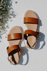 Wedge Sandals Top View