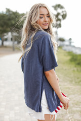 Oversized Tee Side View