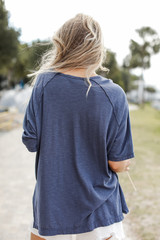 Oversized Tee Back View