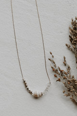 Ivory - Seashell Necklace from Dress Up