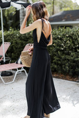 Jersey Jumpsuit Side View