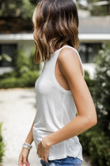 Everyday Knit Tank Side View