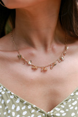 Gold - Butterfly Charm Necklace
