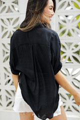 Button-Up Top Back View