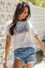 Natural - Be The Sunshine Graphic Tee