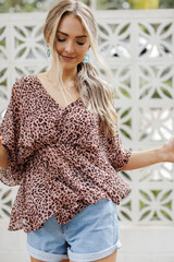 Peach - Blouse from Dress Up