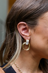Gold - Statement Earring