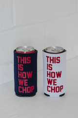 Flat Lay of This Is How We Chop Koozies
