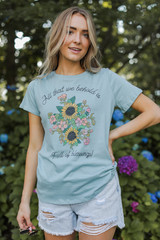 Mint - Blessings Graphic Tee