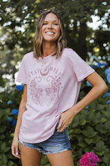 Stay Wild Graphic Tee Front View