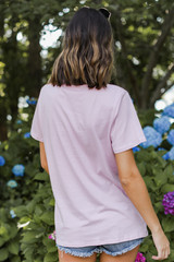 Stay Wild Graphic Tee Back View