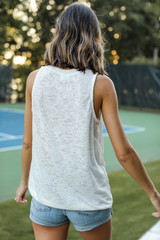 Everyday Knit Tank Back View