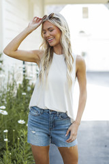 Ivory - Everyday Jersey Tank from Dress Up