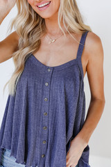 Denim - Button Front Tank from Dress Up