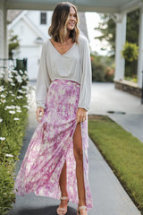 Maxi Skirt Front View