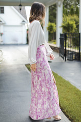 Maxi Skirt Side View