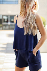 Navy - Romper from Dress Up