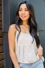 Ivory - Babydoll Tank from Dress Up