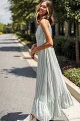 Maxi Dress Side View on model