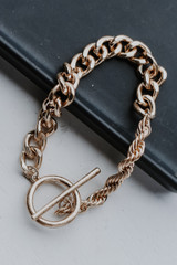 Gold - Chain Bracelet from Dress Up