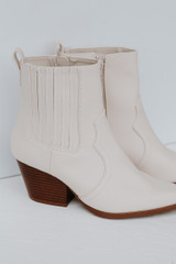 Flat Lay of Pointed Toe Booties
