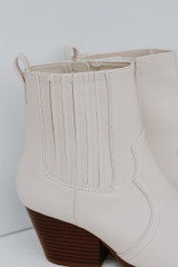 Close Up of Pointed Toe Booties
