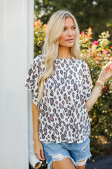 Leopard Top Front View