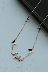 Gold - Butterfly Necklace from Dress Up