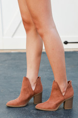 Camel - Ankle Booties