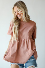 Blush - Babydoll Top from Dress Up