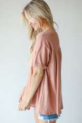 Babydoll Top Side View