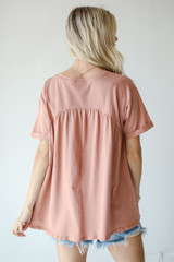 Babydoll Top Back View