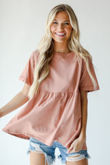 Babydoll Top Front View