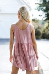 Tiered Romper Back View