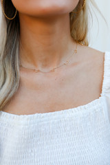 Gold - Star + Moon Necklace
