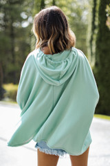 Oversized Hoodie Back View