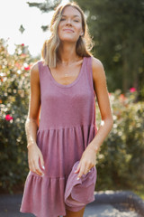 Mauve - Tiered Dress from Dress Up