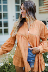 Camel - Tunic Blouse from Dress Up