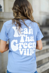 Denim - Yeah That Greenville Pocket Tee from Dress Up