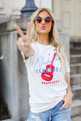 Ivory - Nashville Tennessee Music City Tee from Dress Up