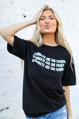 Black - Saturdays Are For Football Tee from Dress Up