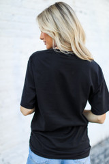 Saturdays Are For Football Tee Back View